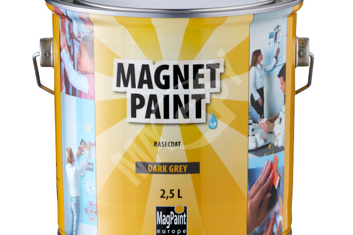 167aae798ca0 Magnetická barva – z obyčejné stěny vykouzlíte magnetickou nástěnku -  MAGSY
