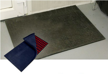 Cleaning magnetic mats / magnetic carpets